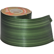 "Viz Floral Green Embossed Ribbon 4""x 50 Yards"