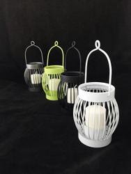 Hanging Metal Basket Votive