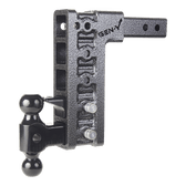 """GH-525 Drop or Rise 10"""", Includes 2-5/16"""", 2"""" ball mount, pintle lock 16,000 LBS"""