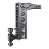 """GH-526 Drop or Rise 12.5"""", Includes 2-5/16"""", 2"""" ball mount, pintle lock  16,000 LBS"""