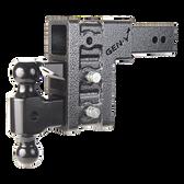"GH-1623 Drop or Raise 6"", Includes Hitch, Dual ball, pintle lock 32,000 LBS"