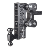 "GH-1226 Drop 10"" or Rise 2"" (or vice versa), Includes Hitch, Dual ball, pintle lock, 16,000 LBS"