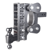 "GH-1325 Drop 9"" or Rise 3"" (or vice versa), Includes Hitch, Dual ball, pintle lock, 21,000 LBS"