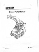 Boxer (Compact Power) TD327 Parts Manual