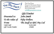 $ 50 Gift Voucher from The Pen Place