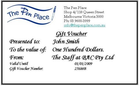 The Pen Place For All Your Business And Personal Gifts