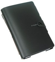 Ciak Mood Notebook - Black (15cm X 21cm) with Pen