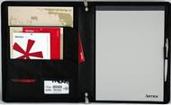 Artex The Circa Leather A4 Folder (Black)