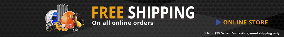 Free Shipping on All Online Orders