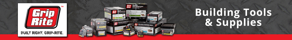 Grip Rite Building Tools & Supplies from AFT Fasteners
