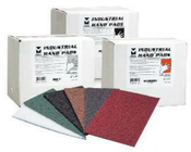 "Industrial Strength Hand Pads - 6"" x 9"" - Maroon, Mercer Abrasives 285MRN (20 Pads/Box)"
