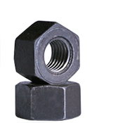 "1 1/4""-7 Heavy Hex Nut, Coarse, Medium Carbon Steel, Plain (50/Bulk Pkg.)"