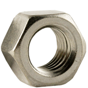 """1 1/2""""-6 Finished Hex Nuts, Coarse, Stainless Steel 18-8, ASTM F594 (5/Pkg.)"""