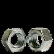 "1 1/2""-6 Finished Hex Nut, Grade 5, Coarse Medium Carbon Steel, Zinc Cr+3 (55/Bulk Pkg.)"