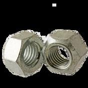 M10-1.50 Hex Cone Locknut Class 10 Med. Carbon Zinc & Wax Cr+3 DIN 980v (100/Pkg.)