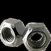 "1""-8 All Metal Hex Locknuts Grade C Med. Carbon Zinc & Wax Cr+3 (100/Bulk Pkg.)"