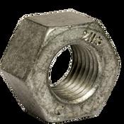 "1 1/4""-7 Heavy Hex Nut, A194/SA194 2H, Hot Dip Galvanized/Wax/Blue Dye  (270/Bulk Pkg.)"
