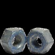 "1 1/2""-6 A563 Heavy Hex Nut Grade DH Coarse Medium Carbon Steel, Hot Dip Galvanized/Wax/Blue Dye (30/Bulk Pkg.)"