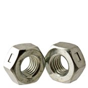 "1""-8 Reversible Locknut, Low Carbon Zinc Cr+3 (150/Bulk Pkg.)"