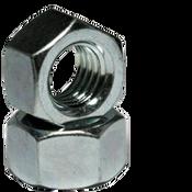 "1 1/2""-6 Finished Hex Nuts, Grade 2, Coarse, Low Carbon Steel,  Zinc Cr+3 (50/Bulk Pkg.)"