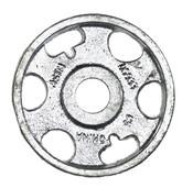 "3/16""x2-5/8"" Shear Plate Washer, Malleable Plain (135/Bulk Pkg.)"