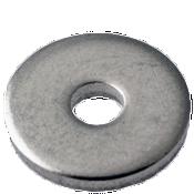 "#10x23/64""X0.061 Flat Washers 18-8 A2 Stainless Steel NAS 620 (10,000/Bulk Pkg.)"