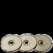 """1/4""""X1-1/2""""X0.05 Fender Washers 304 Stainless Steel (1,000/Bulk Pkg.)"""