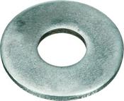 #12 SAE Flat Washers Low Carbon Zinc Cr+3 (100 /Pkg.)