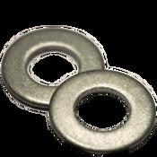 #4 SAE Flat Washers Low Carbon  Plain (100 /Pkg.)
