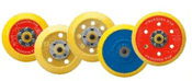 """Backin8g Pad for Hook & Loop Discs - 6"""" x 5/16"""" - 24 - No Dust Holes, Mercer Abrasives 328006 (Qty. 1)"""