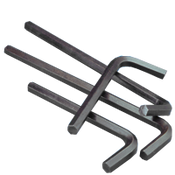 .050 Hex Keys Alloy 8650 Short Arm (USA) (100/Pkg.)