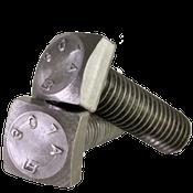 "1""-8x2"" (FT) A307 Grade A Square Head Bolt Zinc Cr+3 (90/Bulk Pkg.)"