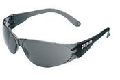 Checklite Safety Glasses, Smoke Frame/Gray Lens (12/Box)