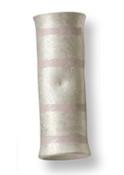 1/0 AWG Butt Electrical Lug - Pink (1,000/Bulk Pkg.)