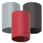 """FlexTube Double Wall w/Sealant Heat Shrink - 1/2"""" X 6"""" Black (100/Pkg.)"""