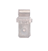 Right Angle Male Tab (100/Pkg.)