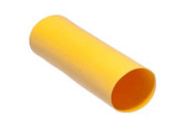 "12-10 AWG Dual Walled Color Coated - Adhesive Lined Heat Shrink - 5/16""  X 6 "" Yellow"