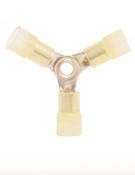 12-10 AWG Nylon Insulated 3-Way Splice Connectors (1,000/Bulk Pkg.)