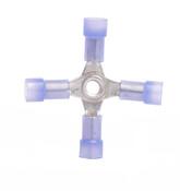 16-14 AWG Nylon Insulated 4-Way Splice Connector (1,000/Bulk Pkg.)