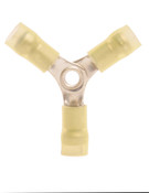 12-10 AWG 3-pc Nylon Insulated w/ Sleeve 3-Way Splice Connectors (1,000/Bulk Pkg.)