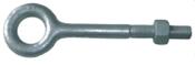 "1/4""x2-1/2"" Plain Pattern Nut Eye Bolt, Hot Dipped Galvanized (100/Pkg.)"
