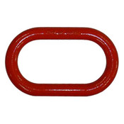 "5/8"" Master Link, Oblong, Painted Red (15/Pkg)"