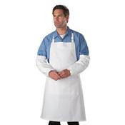 Tyvek Sleeves, HD Polyethylene, White, One Size (200 Sleeves/Case)