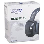 Thunder T3 Dielectric Earmuffs, 30NRR, Black (1 Pair)
