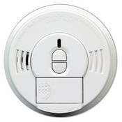 Front-Load Smoke Alarm w/Mounting Bracket, Hush Feature (Qty. 1)