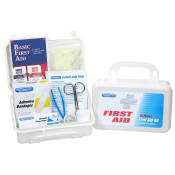 25 Person First Aid Kit in Plastic Case