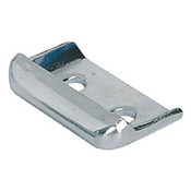 Kipp Clamp for Adjustable Latch, Screw-on Holes Visible, Grooved Top, Stainless Steel, Style A (1/Pkg.), K0048.9163282