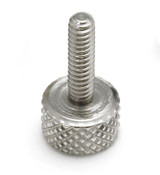 "#10-32x5/8"" Knurled Thumb Screws, Stainless Steel (25/Pkg.)"