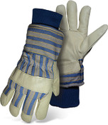 BOSS Lined Grain Pigskin Leather Palm Safety Gloves