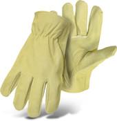 BOSS Grain Pigskin Leather Driver Gloves